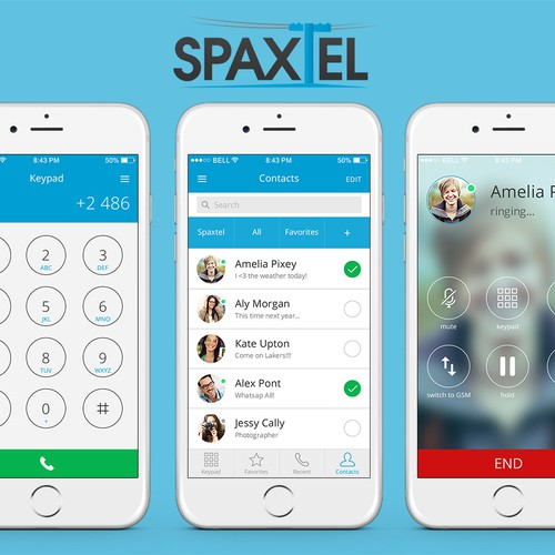 Taking Spaxtel's iPhone app to the next level with fresh thinking