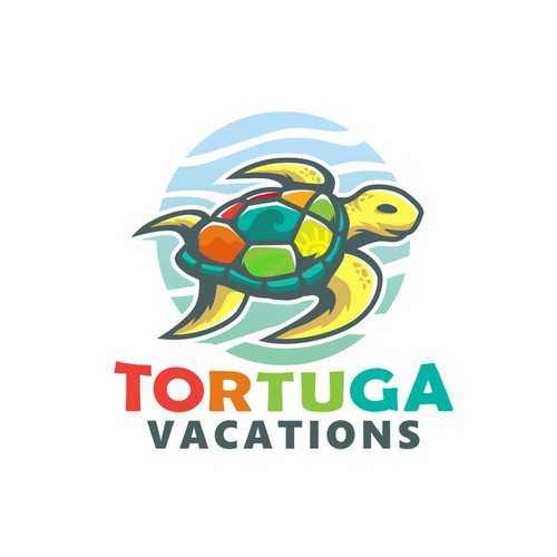 tortuga travel and hotel logo