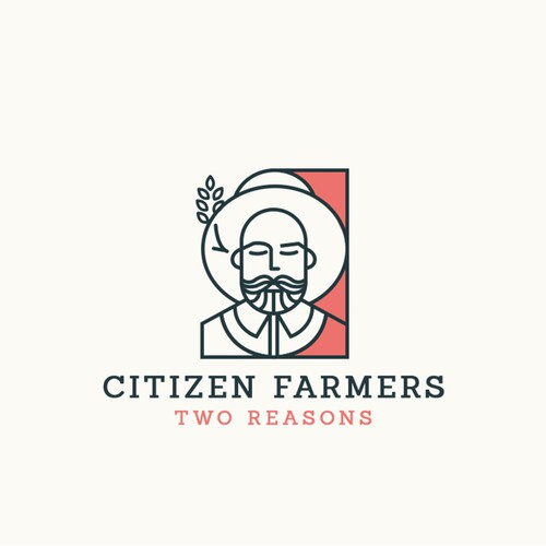 Logo design for farm