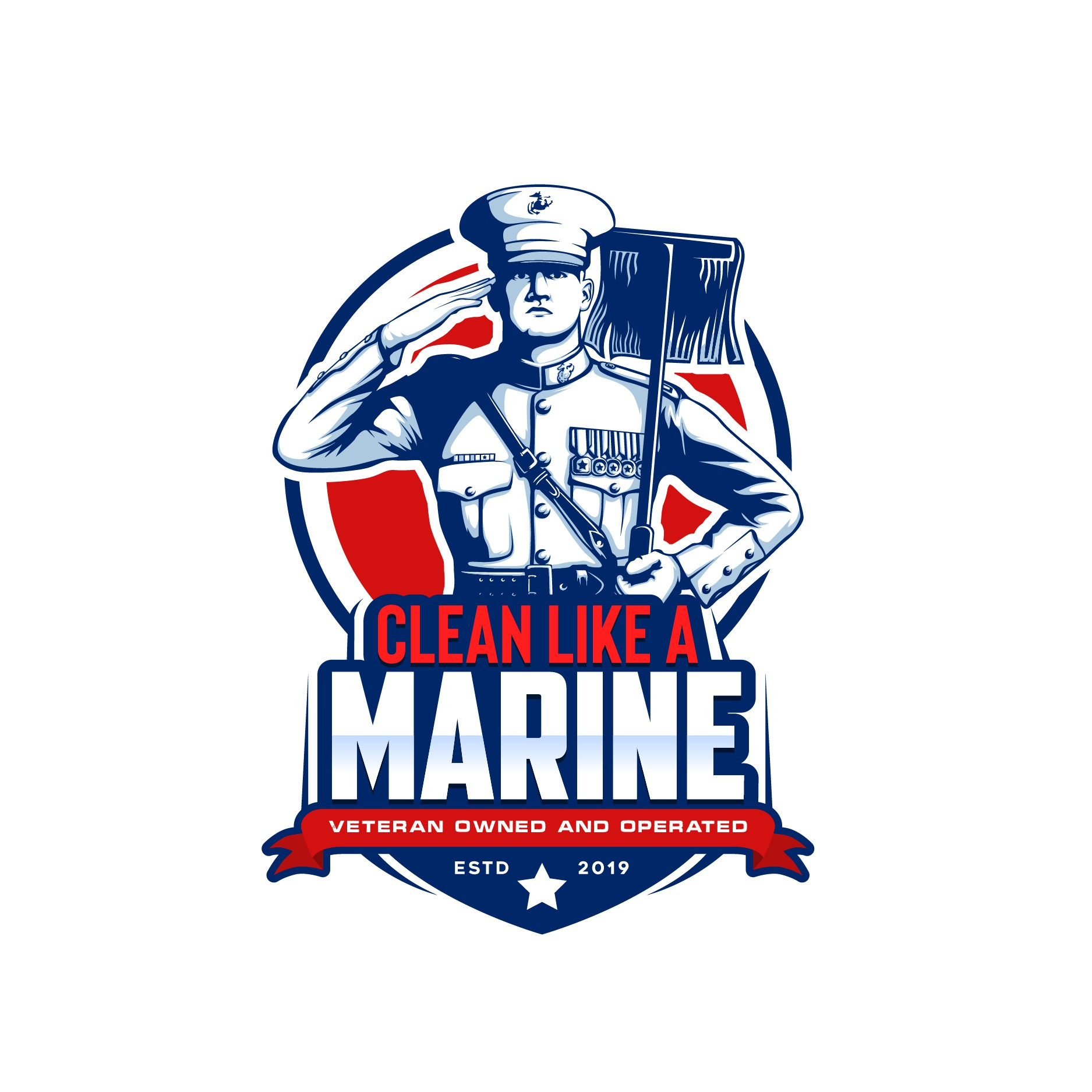 Veteran needs logo for new cleaning service, also FB cover!!