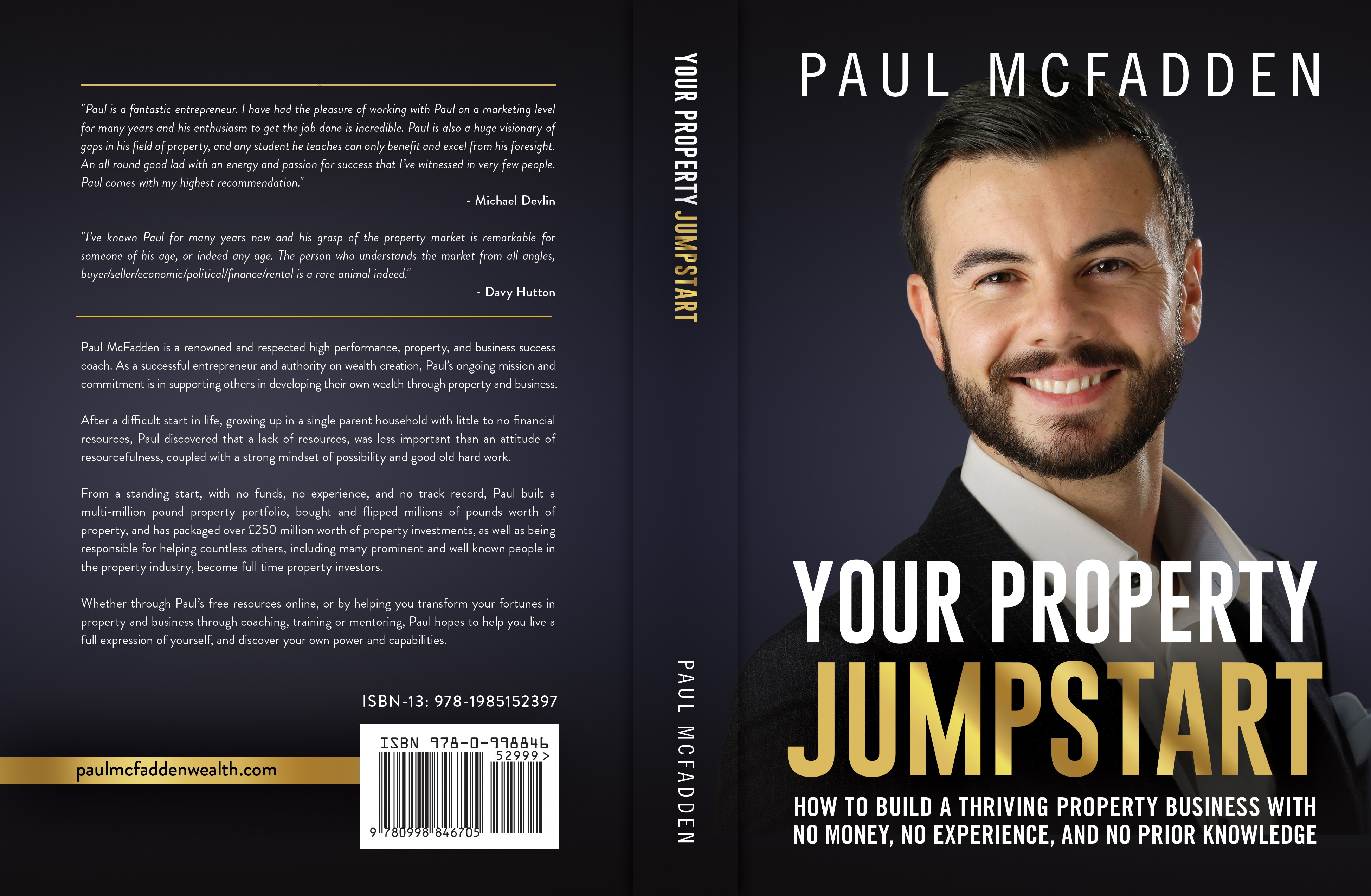 book cover - impactful design for an investment book needed