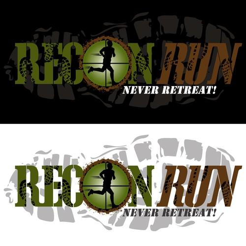 """Top Secret Logo for """"Recon Run"""""""