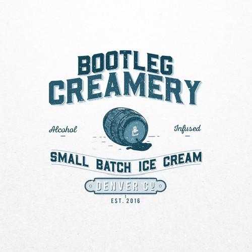 Concept for  Bootleg Creamery