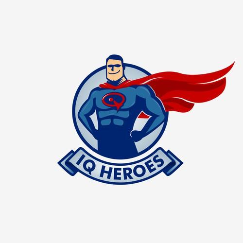 IQ HEROES logo