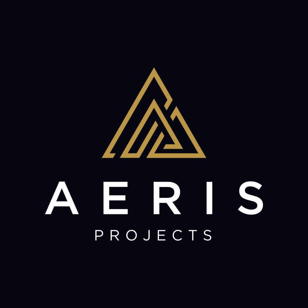 Logo and design pack for Aeris Projects, we are an elctrical contrcator.
