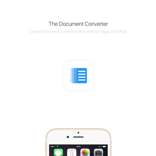 Document Converter App Icon