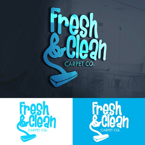 Logo concept for Carpet Cleaning company