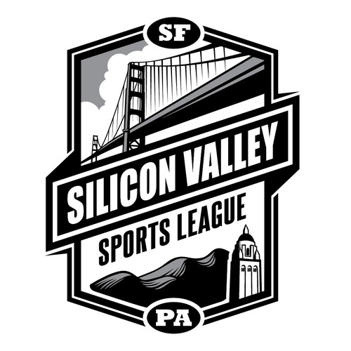 "Logo for the ""Silicon Valley Sports League"""