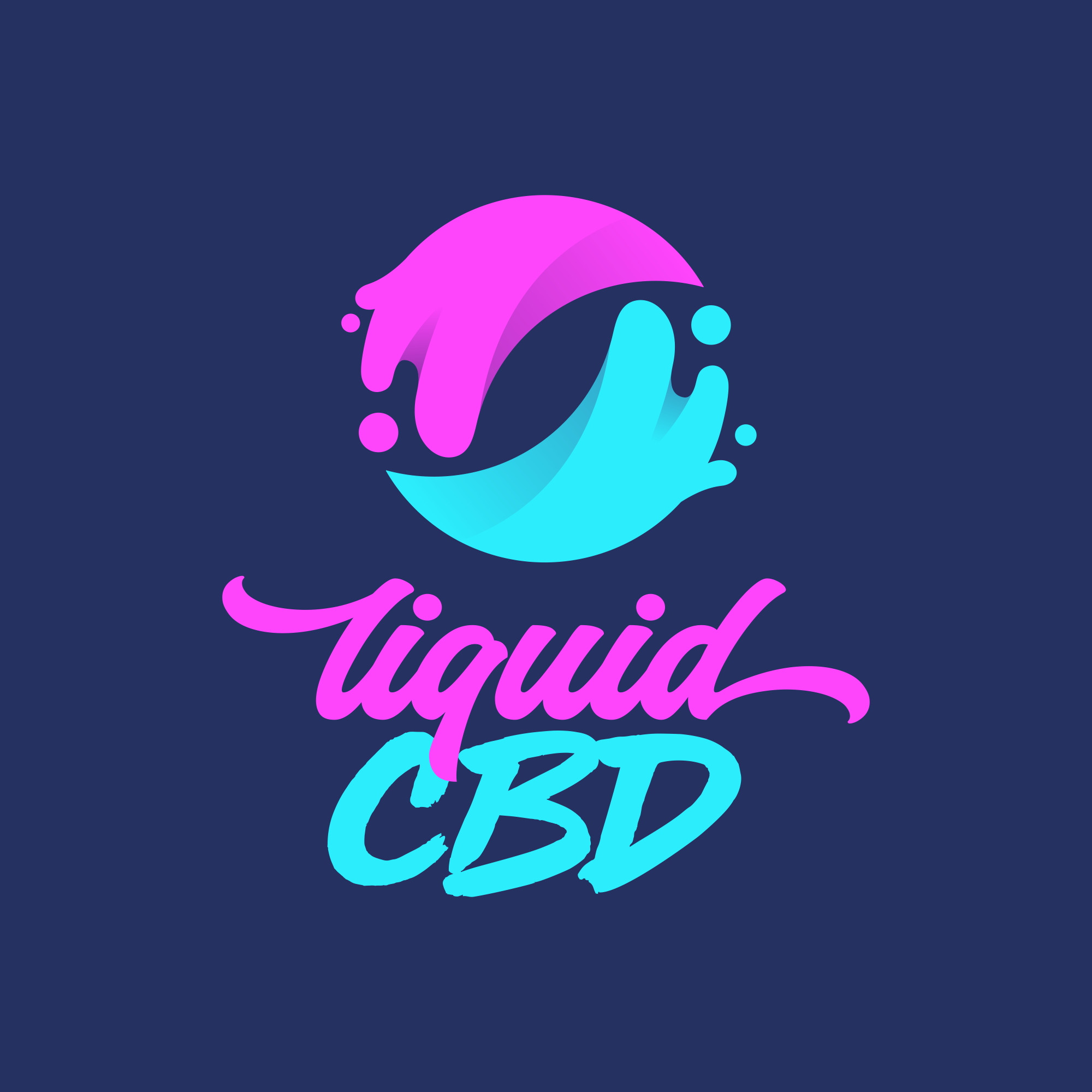 Design a playful yet powerful logo for our award-winning Liquid CBD brand