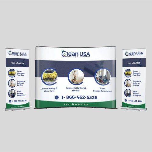 Clean USA Trade Show Design