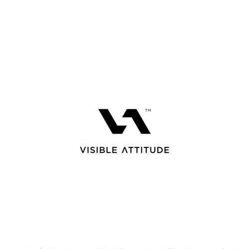 minimalist VA monogram
