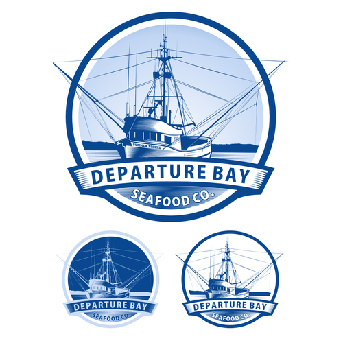 DEPARTURE BAY SEAFOOD CO. needs a new logo