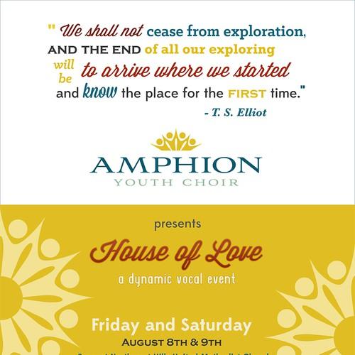 Amphion Youth Choir Flyer