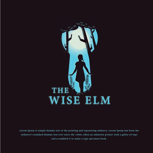 bold logo concept for The Wise ELM