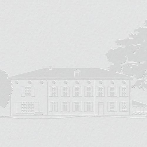 Illustration of family house