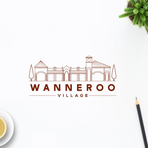 "Brand Identity design for ""Wanneroo Village"""