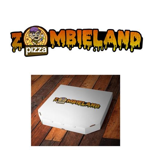 logo concept for pizzeria