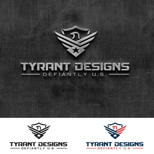 Tyrant Designs logo design