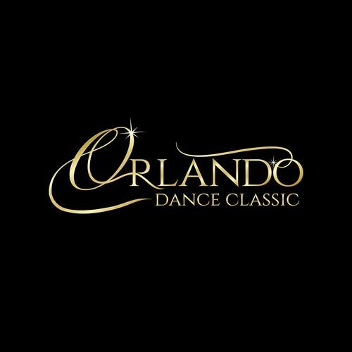 Create an elegant Ballroom Dance Competition logo