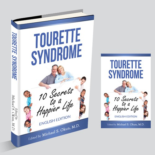 Design a Book Cover: Tourette Syndrome book for patients and families