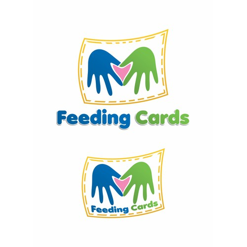New Logo for Feeding Cards - non-profit - your work does good in the world!