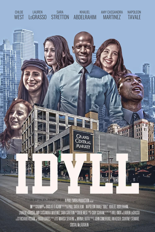 Feature Drama Film Movie Poster Design: Idyll