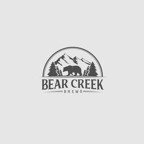 Badge Logo for Beer Brewer
