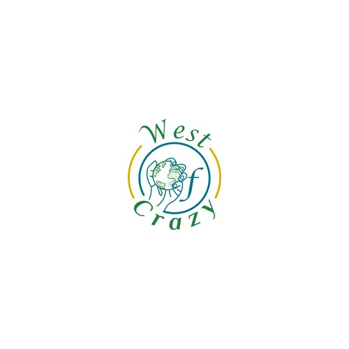 West of Crazy Logo Design