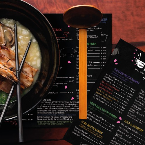 Menu for Ramen Underground