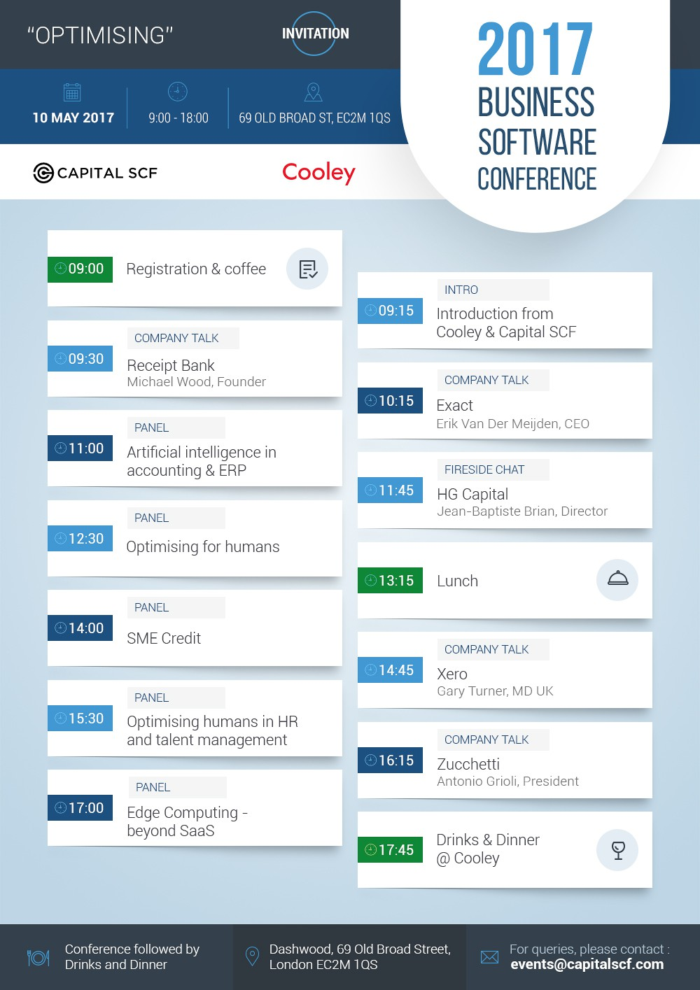 2017 Business Software Conference | *INVITATION*