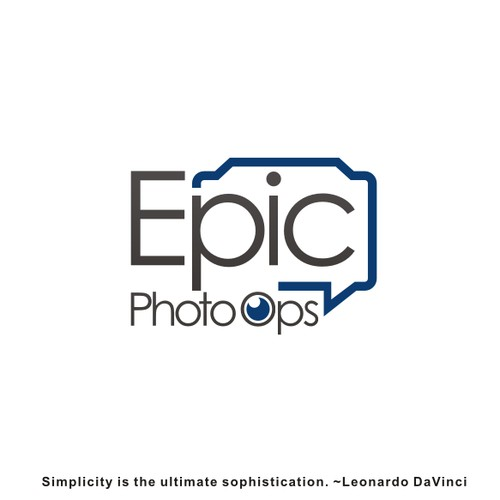 Create a great logo for a pop culture services company: Epic Photo Ops!