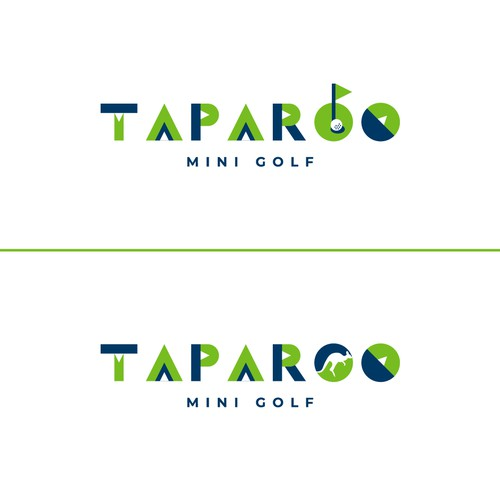 Logo for mini-golf centre