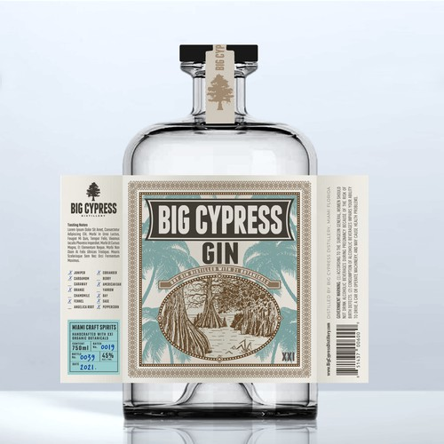 BIG CYPRESS GIN
