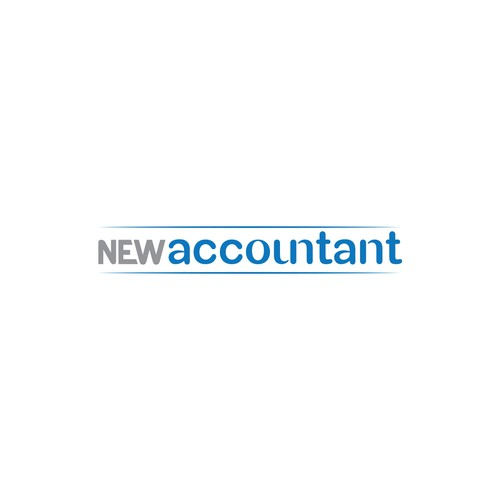 Typographic Logo for New Accountant