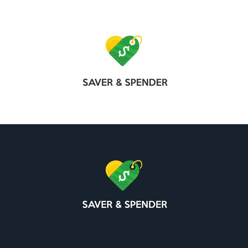 Saver and Spender Logo Design