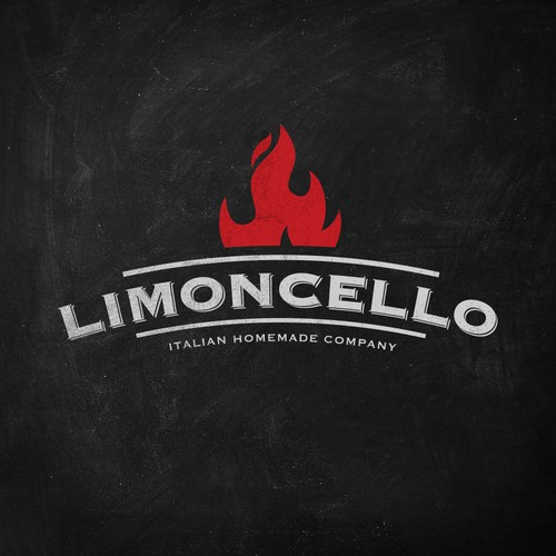 Bold logo concept for pizzeria