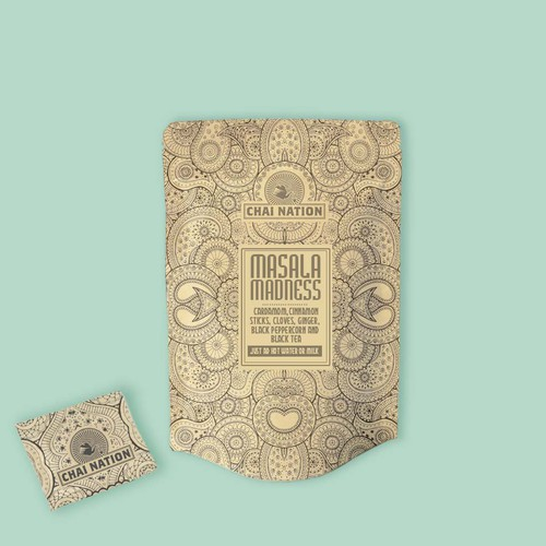 CHAI TEA NEEDS  PACKAGING DESIGN