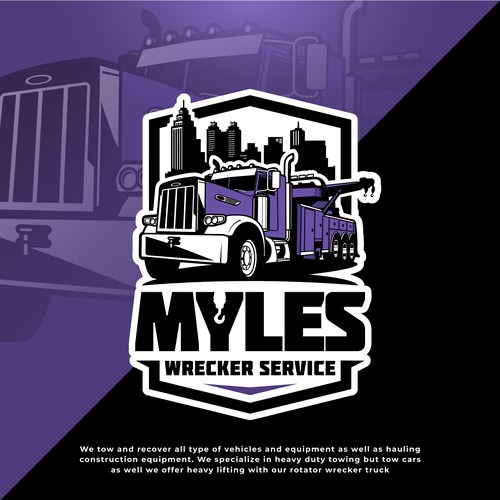 Myles Wrecker Service logo