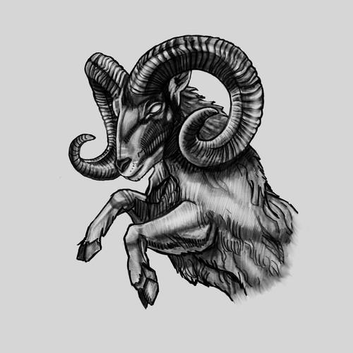 Ram Tattoo Concept