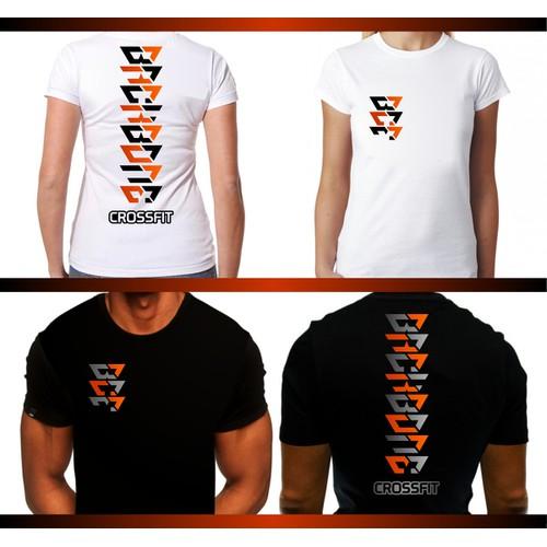 Create a striking logo for Backbone CrossFit