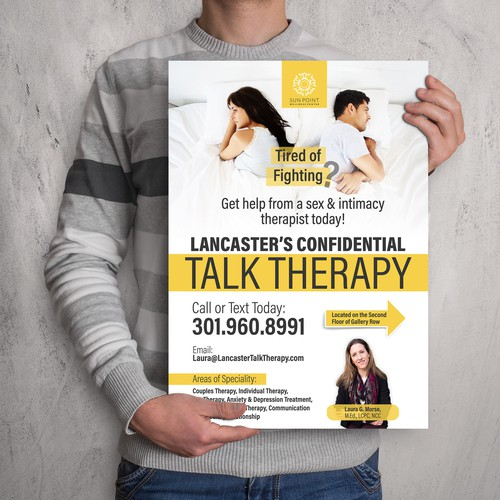 Create Poster for Relationship & Sex Therapy Clinic