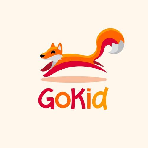 Fox Kid Logo Design