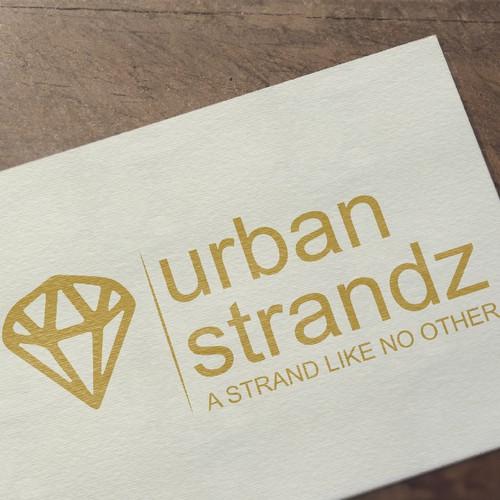Diamond logo concept for Urban Strandz