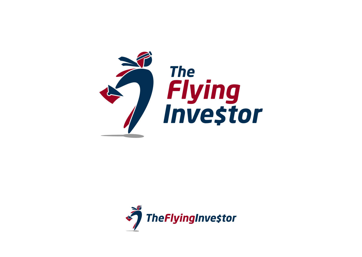 The best logo ever for The Flying Investor (If you sing it, it rhymes)