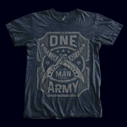 """ONE MAN ARMY"" T-Shirt"