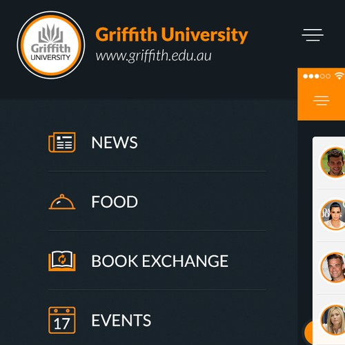 Great/awesome (re)design for university app