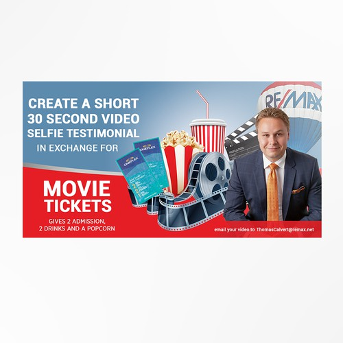 Banner ad for Remax real estate agent
