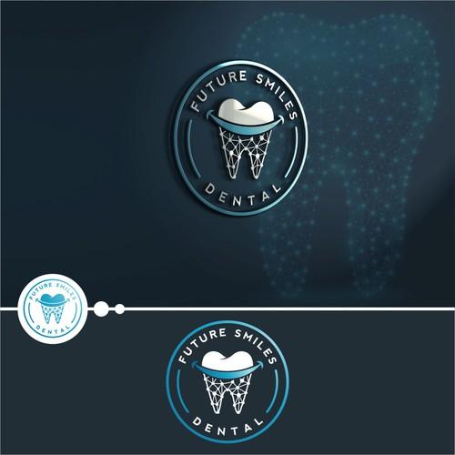 Logo design for Futuristic Dental Office