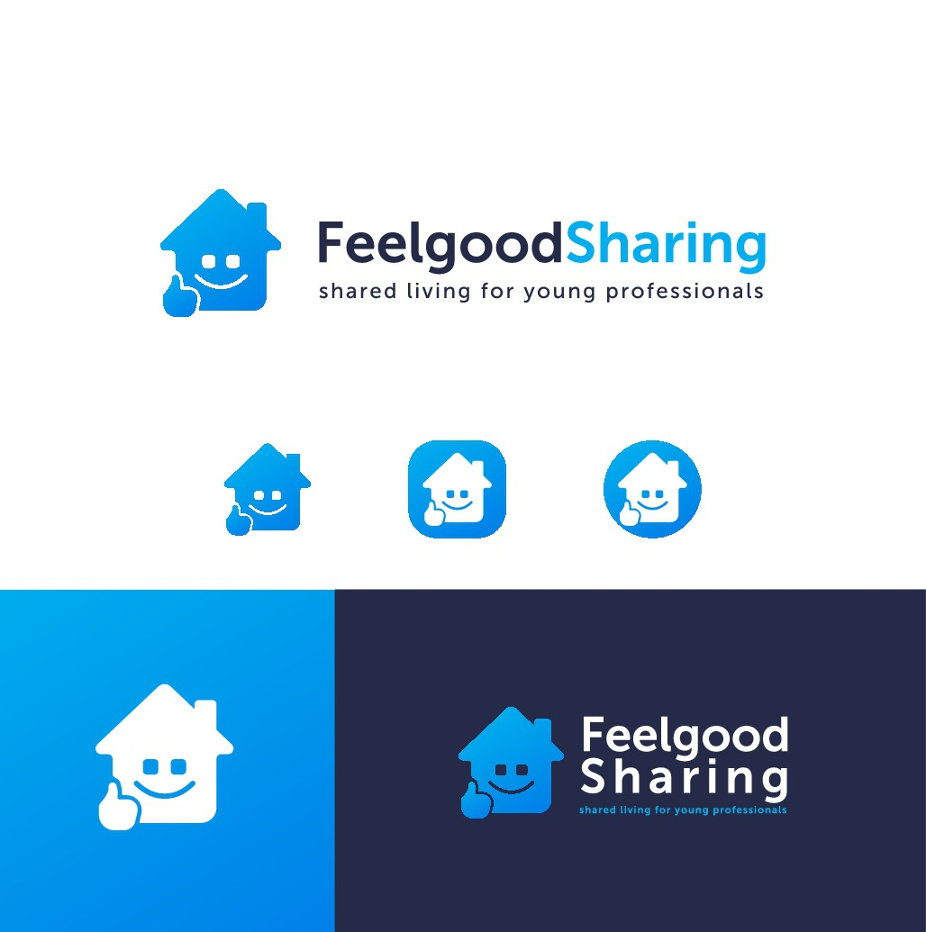Design an attractive logo depicting the feelgood factor of living in one of our houses