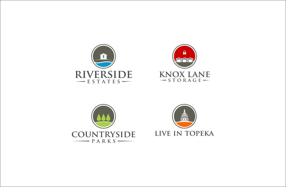 New logo wanted for 4 Real Estate businesses, similar theme with a distinctive touch for each company